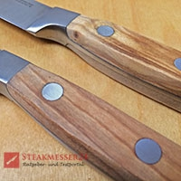 Makami Olive Deluxe Steakmesser Holzgriffe