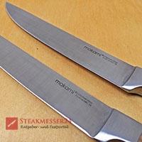 Makami Olive Deluxe Steakmesser Klingen