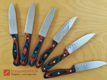 Dr. Richter Steakmesser Texas XXL 6 Messer