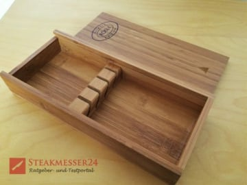 Rösle Steakmesser Box