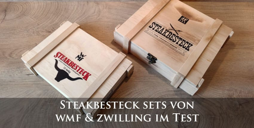 steakbesteck test 2019 sets von wmf zwilling im vergleich. Black Bedroom Furniture Sets. Home Design Ideas