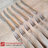 WMF Steakbesteck Gabel und Messer