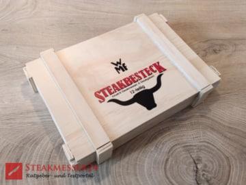 WMF Steakbesteck Holzkiste geschlossen