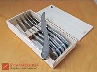 WMF Steakmesser mit 6 Teilen in Holzbox