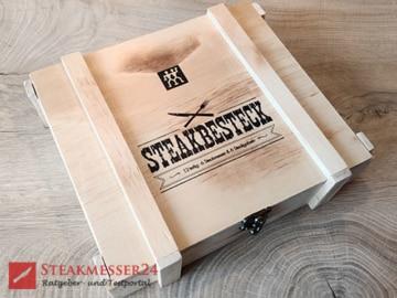 Zwilling Steakbesteck Box geschlossen