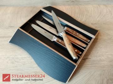 Steakchamp Musketeer Steakmesser in Geschenkverpackung