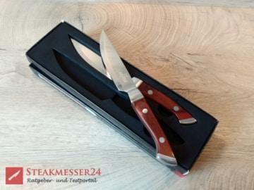 Steakchamp Premium Steakmesser in Verpackung